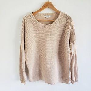Boden Cashmere Blend Knit Boxy Sweater Size 12
